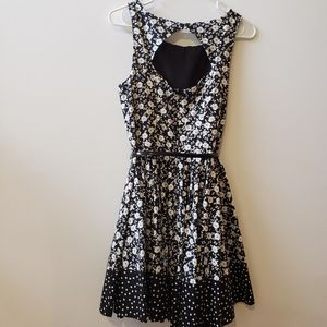 LC Lauren Conrad Dresses - Black and white lauren conrad dress